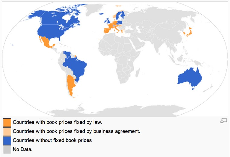 World Map Fixed Book Price