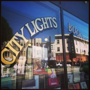 2 Seas Agency at City Lights bookstore