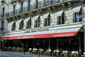 My 'regular' headquarters for my Paris meetings