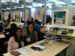 The 2 Seas team at work at the LBF!