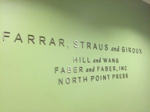 At Farrar, Straus & Giroux