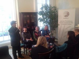 Latvian Sojourn launch event at the Latvian Mission to the United Nations in NYC (May 2015)