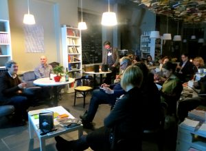 LAF partners at Orbita group presentation in Riga