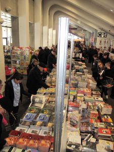The annual book market held every February in Reykjavik
